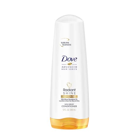 Sho Dove Hair Therapy dove radiant shine conditioner