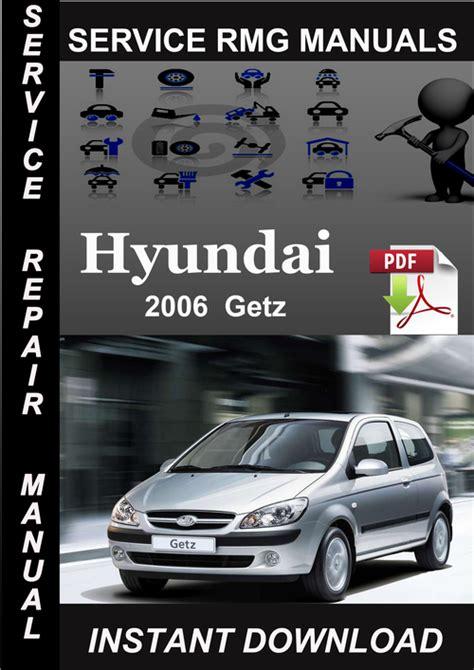 2006 Hyundai Getz Service Repair Manual Download