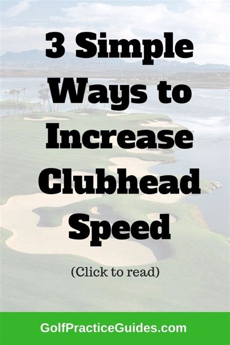best way to increase swing speed 2311 best images about golf on pinterest