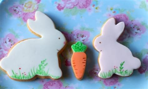 hand painted easter cookies kidspot