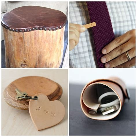 Handmade Diy - 25 diy leather gifts for everythingetsy
