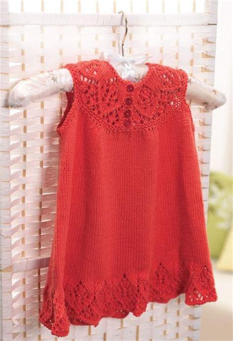 knit dress pattern free pattern meredith baby dress knitting crocheting