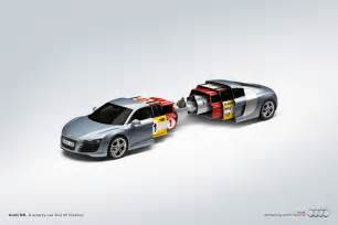 new audi r8 print ad quot a sporty car of history quot