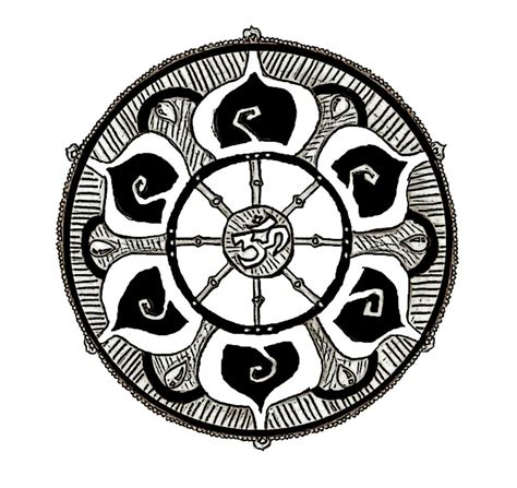 dharma wheel tattoo dharma wheel by zack101035 on deviantart