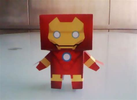 How To Make A Paper Iron - make your own iron 2 paper figures gadgetsin