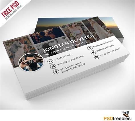 photography business cards templates best 25 photographer business cards ideas on