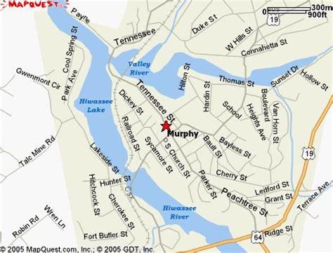 map of murphy carolina murphy nc usa carolina