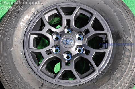 16 quot toyota tacoma oem factory gray wheels sequoia 4runner