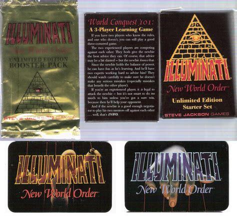 new world order illuminati comics cards collectables 187 illuminati the new world order