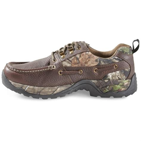 Mens Rugged Casual Shoes by Guide Gear S Rugged Moc Shoes Waterproof 658570