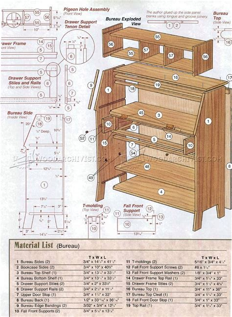 arts  crafts bookcase plans woodarchivist