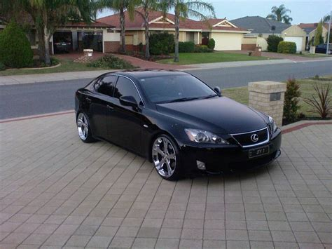 lexus is 250 custom black my black lexus is250 with fabulous mb 5 rims clublexus