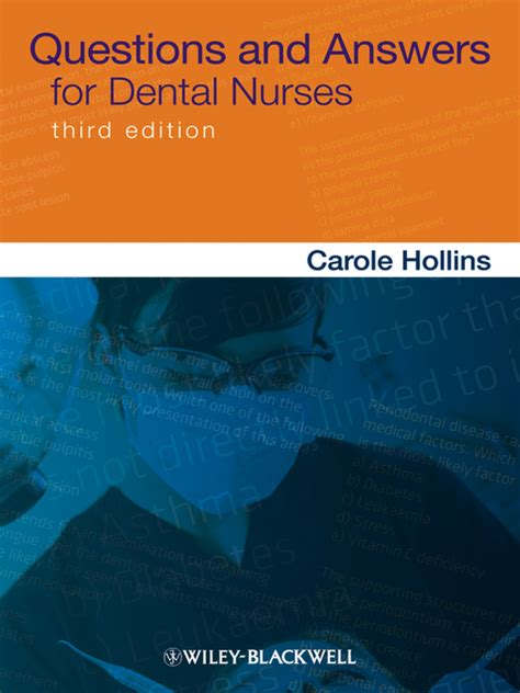 Answers To Questions For Nurses by Questions And Answers For Dental Nurses Ebook