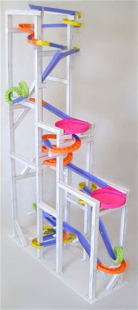 How To Make A Paper Roller Coaster Track - paper roller coasters gallery the would