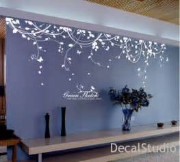 Room Wall Stickers White Vinyl Sticker Wall Decal For Bedroom Living Room