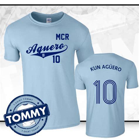 Gildan Liverpool Fans city sergio aguero 10 t shirt ageuro city t shirt kun ageuro ebay