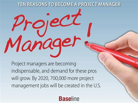 10 reasons why you d want to be a project manager