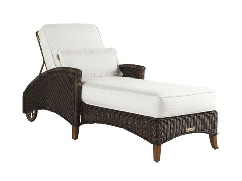 tommy bahama chaise lounge tommy bahama outdoor island estate lanai wicker chaise