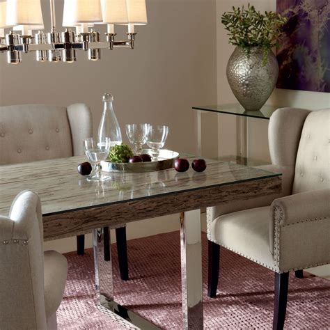 henley 84 quot dining table bernhardt furniture luxe home
