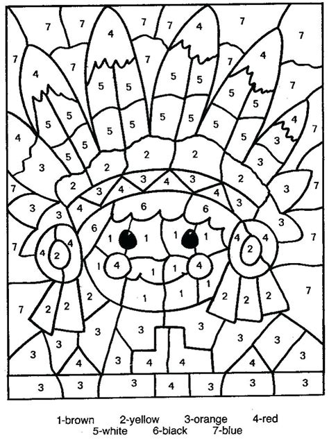 coloring pages with division color by number winter addition color by number printable