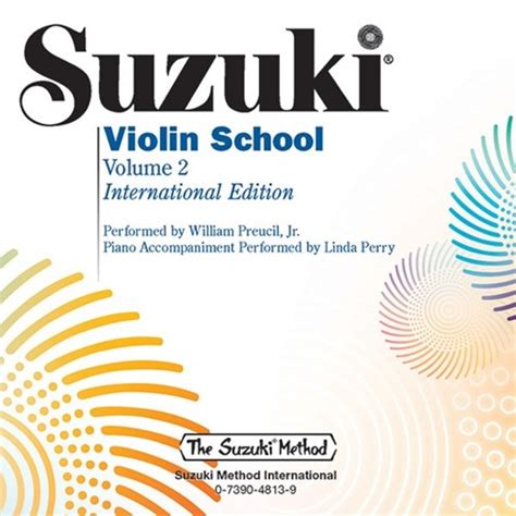 Suzuki Violin School Vol 3 Cd Revised Edition suzuki shar sharmusic