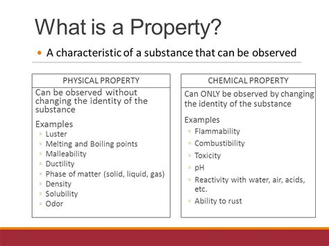 is color a physical or chemical property physical vs chemical properties ppt