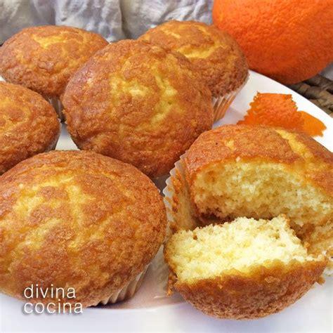 recetas de cocina magdalenas receta de magdalenas de naranja magdalenas de naranja