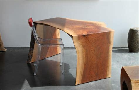 bureau bois brut les meubles bois brut la tendence et le style nature sont l 224
