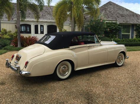 rolls royce 4 door convertible 1960 rolls royce four door convertible national award