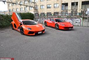 how much is a 458 vs lamborghini aventador