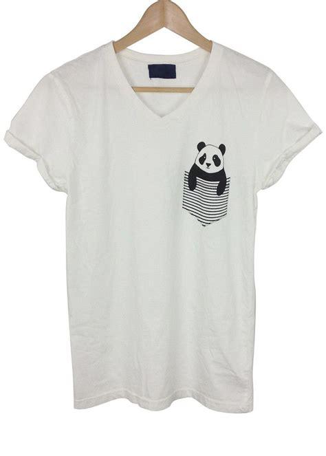 Tshirt Pocket Pandas by Panda Pocket Graphic Shirt Tops Tees Shirts Tanks T