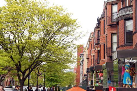 hairstyle on newburry street on newbury street boston shopping frozen yogurt and