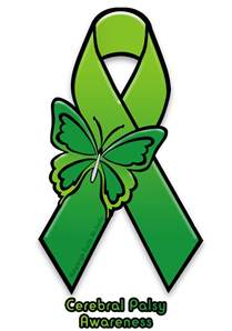 cerebral palsy color cerebral palsy awareness ribbon by adaleighfaith on deviantart