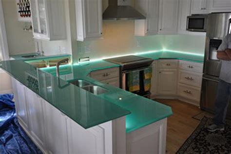Blue Glass Kitchen Backsplash by Images Of Granite Marble Quartz Countertops Richmond Va