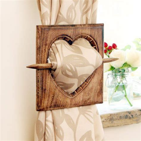 wooden curtain tie backs best 25 wooden curtain rods ideas on pinterest wood