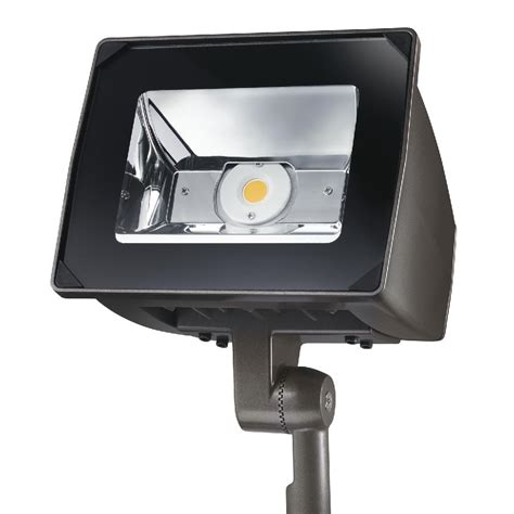 Tv Led Low Watt lithonia lighting black bronze outdoor led wall mount flood light with photocell oflr 6lc 120 p