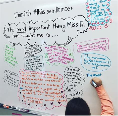 The End Of The Supermodel Says by 17 Best Images About Elementary Whiteboard Messages