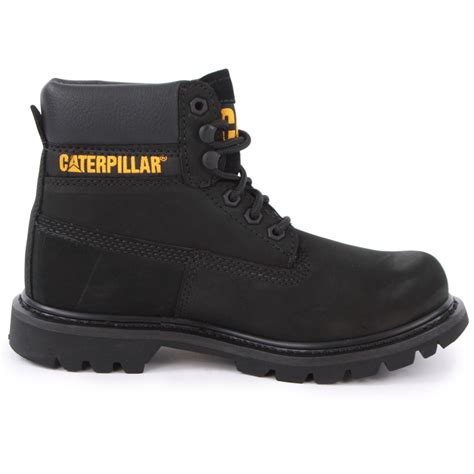 caterpillar colorado womens boots in black