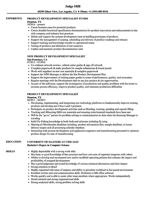 Product Integrity And Resume And Rubbermaid by Product Development Specialist Resume Sles Velvet