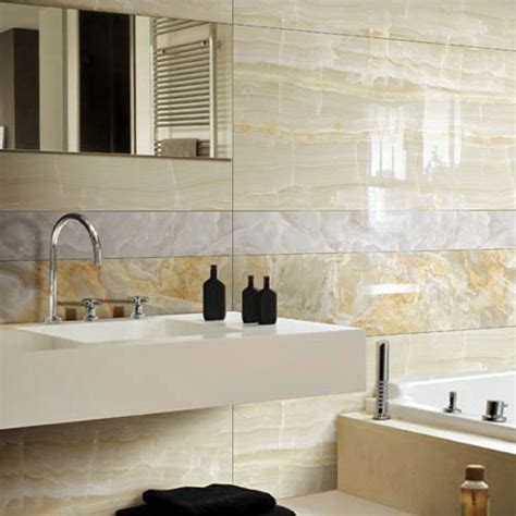 cream marble bathroom glacier cream marble effect 120x60cm porcelain tiles