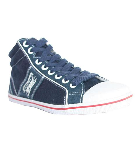 levi s blue canvas shoes price in india buy levi s blue