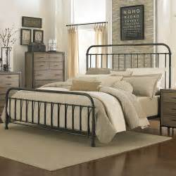 shady grove iron bed in antiqued humble abode