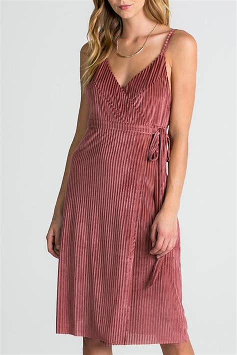 Miss Soul Dress miss velvet wrap dress from virginia by mod soul