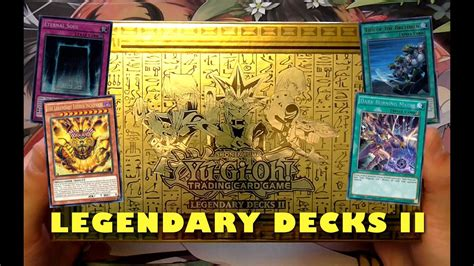 legendary decks yugioh legendary decks 2 opening yugi joey and kaiba