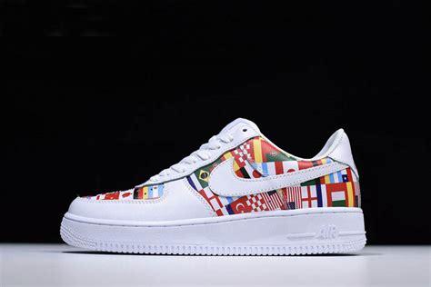 nike air 1 colors nike air 1 low international flags white multi