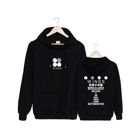 bts  wings album hoodie gotamochi kawaii shop