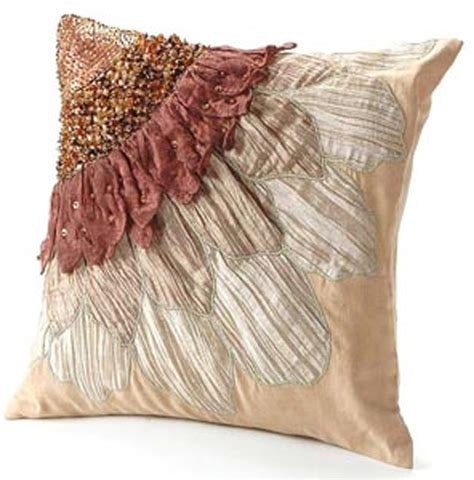 Unique Pillows unique accent pillows decorative for home furnishings decorative by baana llc petalon pillow