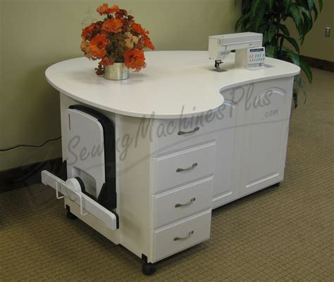 Sewing Tables And Cabinets by 20 Best Photos Of Sewing Machine Tables For Quilting