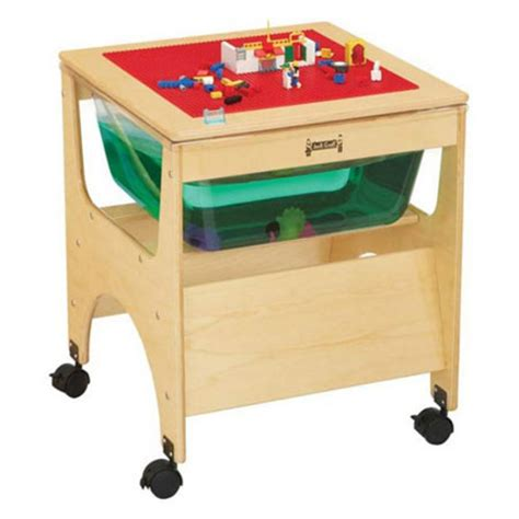 Mini Lego Table by Mini Sensory Table Gives Great Activity Opportunity With