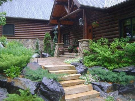 Highland Brown Outcropping Steps Rock Hard Landscape Supply Highland Landscape Supply